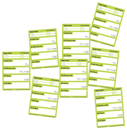 Value Proposition Test Cards